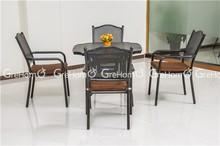 outdoor furniture wholesale cast aluminum mesh chair