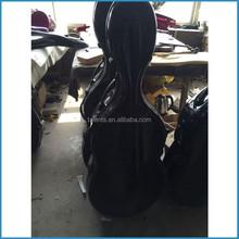 17 colors light weight cello case/soft velvet imitation lining cello case