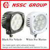 China supply Round Shape 35w CREE led truck work light 12v 24v led auto light