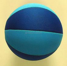 2014 hot sale inflatable SBR beach ball ,beach basketball for kids