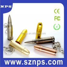 Promotional and high quality bulk items bullet shape metal usb flash drive