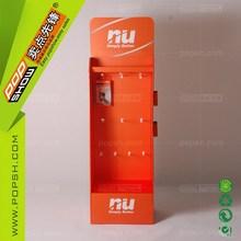 Mobile Phone Case Cardboard Display, Cell Phone Accessories Cardboard Display Rack with Hook