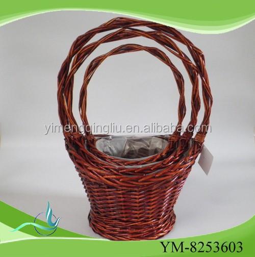 Salgueiro cesta tecida 2015 venda quente