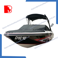 2015 hot sale waterproof boat cover UV Resistant pvc vinyl marine boats tarpaulin cover