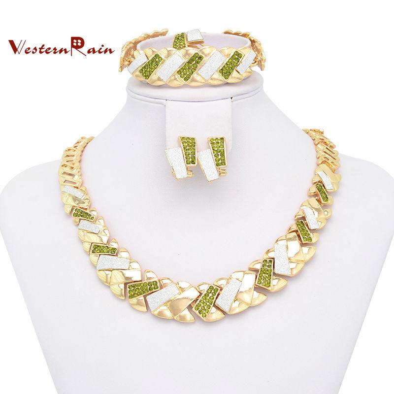 Dubai Gold Plated Jewelry