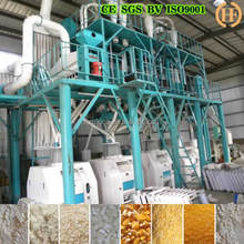 50t maize meal processing factory corn production machines 24t roller mill for maize meal