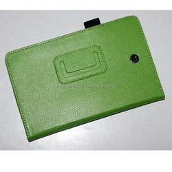 Lichee Pattern Leather Case Skin Stand Cover For Dell Venue 8 Android Tablet