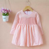 d95475t 2015 beaded long sleeve fashion design small girls dress /baby girls dress designs/hot girls without dress photos