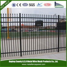 Express wrought iron steel picket railing