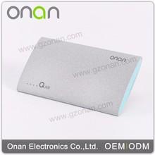 Onan supply smart multifunction power bank for macbook pro /ipad mini