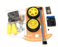 ESP8266 WiFi wireless remote control smart car NodeMCU Lua 2WD ESP Smart Car Robot Kit