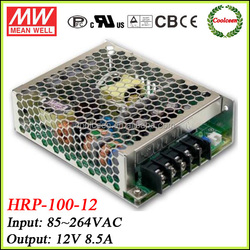 Meanwell dc power supply 12v HRP-100-12