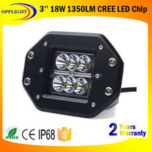 Factory Direct Wholesale E-Scooter Electric Bike Motorcycle ATV jeeps SUV cre e 18W LED Tuning Working Light
