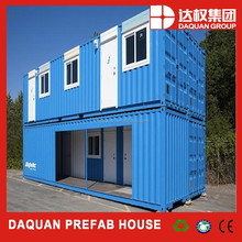 Daquan Modified container house with a truck/ movable prefabricated container with wheels /cheap prefab shipping container home