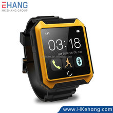 Triple Outdoor Ip68 Waterproof Dustproof Shockproof Smart Watch Uwatch U Terra Bluetooth Watch with Compass for iOS Android