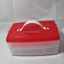 Customized Colors Plastic Egg Preservated Container Kitchen Storage Box