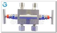 High quality two way three way five way pressure gauge valve