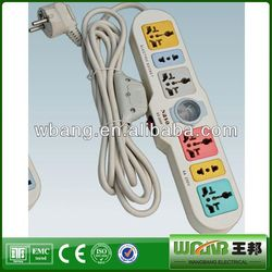 Classical Power Strip Extension Socket Surge Protection