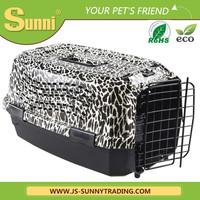 Wholesale plastic folding pet carrier