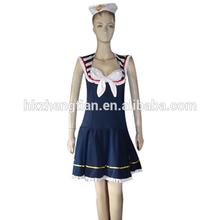 Fancy Dress Sexy Party Hen Costume uniform Womens Ladies Sailor Costume girls party dresses