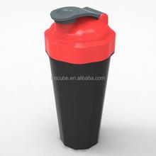 2014 newest plastic protein shake bottles, mix bottles bpa free