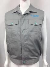 Working Bodywarmer/ Winter Vest with narrow reflective strap - Working Bodywarmer