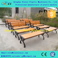 PE wood plastic outdoor chair making machine