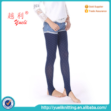 Popular for sale ladies plain pantyhose blue tatoo sexy stockings