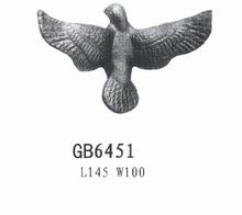high quality cast steel bird ornaments