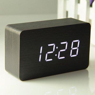 Petite horloge num rique led usb led horloge de bureau - Horloge sur le bureau windows 7 ...