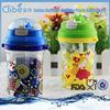 Portable Custom Made Transparent Colorful Bottle Plastic