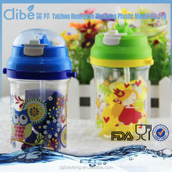 Portable Custom Made Transparent Colorful Bottle Plastic