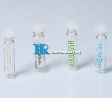 Perfume Trial Bottle Small Perfume test bottle 1ml 2ml 3ml 1.5ml glass vial tube