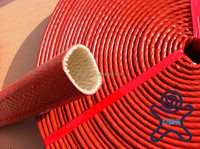 fire resistant sleeving for hoses with ID size from 1/4 inch to 5 inch