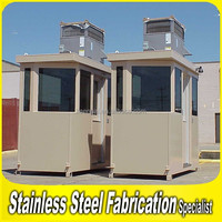 2015 Wholesale Customed Stainless Steel Outdoor Mini Spray Booth