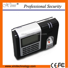 ZK linux system fingerprint time and attendance system web base TCP/IP time attendance with free software X628