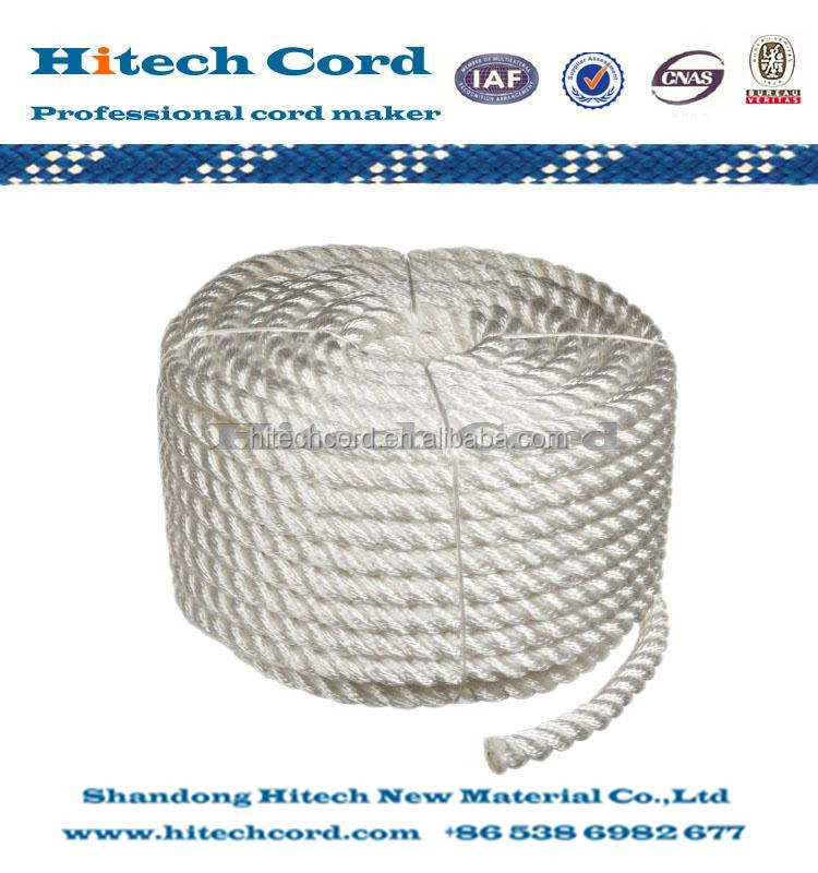 3 Nylon 3 Strands Twisted Rope