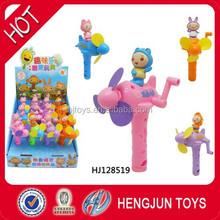 China shantou chenghai toy factory surprise sweet candy toys Waybuloo super fan plane 12pcs