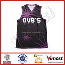 custom sublimation basketball top jerseys 15-4-18-9