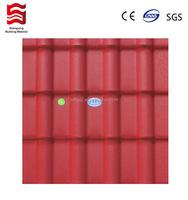 Red Glazed Roofing Tiles