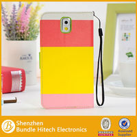 Alibaba wholesale leather flip cover for samsung galaxy note3