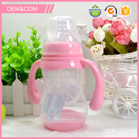 Baby safety food grade plastic material non toxic pp bottle