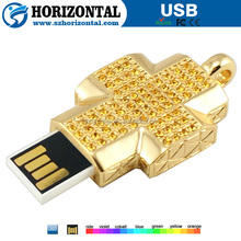 2014 promotion wholesale high quality cross pendrive 64 gb pen drive 64gb