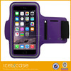 Mobile phone accessories phone case purple Neoprene Waterproof armband for samsung s6 edge , for samsung s6 edge armband