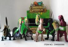 üst sınıf eşsiz plastik orman hayvan oyuncaklar