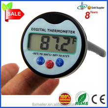 Digital Cooking Temperature Thermometer Metal Probe Candy Thermometer