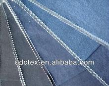 Tela de algodón de mezclilla para pantalones vaqueros 6 S * 6 S