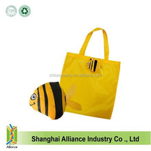2015 Hot New Product / Fish Type Folding Polyester Handbag / Shopping Tote Bag
