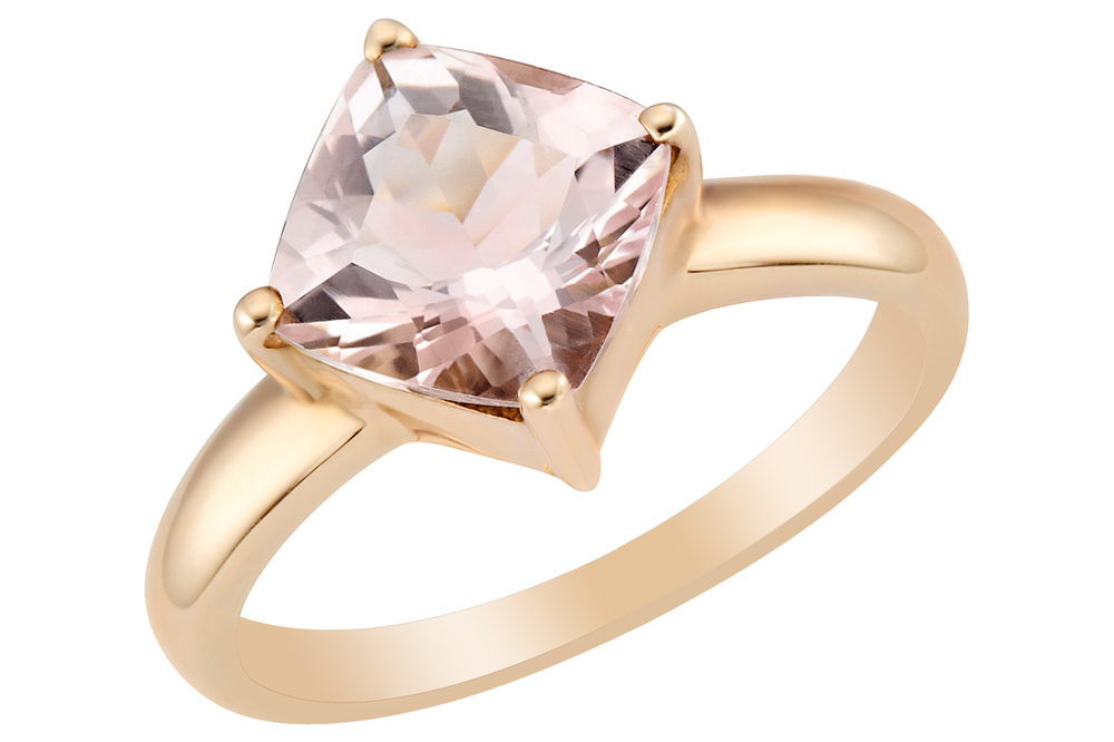 Fresh Gold Ring Design with One Stone | Jewellry\'s Website