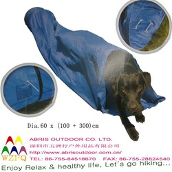 Pop up Pet Playing Tunnel Toys Dia 60 x 300 cm Portable Garden Dog Training
